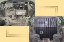 """Авто-Полигон VOLKSWAGEN Caddy 1,9D до 2003г. Защита моторн. отс. категории """"St"""""""