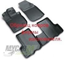 L.Locker Коврики в салон  Toyota Avensis 2002- 3D полиуретановые