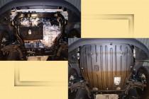 "Авто-Полигон VOLKSWAGEN Transporter Т5 1,9TDI; 2.5TDI 2004-. Защита моторн. отс. категории ""St"""