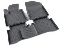 Агатек коврики в салон Hyundai Santa Fe  (2013-)  - полиуретан