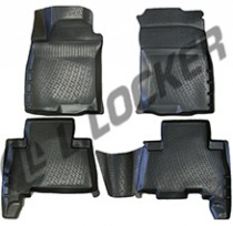 L.Locker Коврики в салон Toyota Land Cruiser Prado 150 3D 2009-  полиуретановые