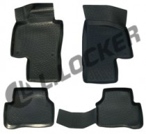 L.Locker Коврики в салон Volkswagen Passat B7 2011- полиуретановые