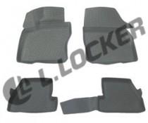 L.Locker Коврики в салон Ford Focus 2011- полиуретановые