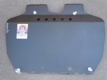 Щит Kia Cerato2004-2009. Защита ДВС+КПП (под бампер)