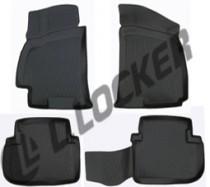 L.Locker Коврики в салон Chevrolet Lanos 1996- 3D полиуретановые