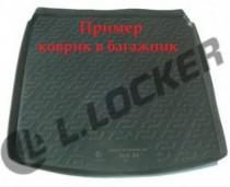 L.Locker Коврики в багажник Audi A4 s/n (04-08) - пластик