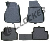 L.Locker Коврики в салон Chevrolet Malibu sd 2011- 3D полиуретановые