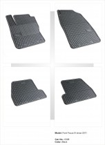 EL TORO Резиновые коврики в салон Ford Focus III (2010 -)