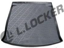 L.Locker Коврики в багажник Audi A6 s/n (1997-2004) - пластик