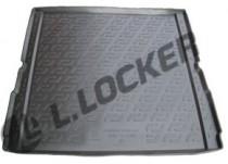 L.Locker Коврики в багажник BMW X5 (E70) (07-) - пластик