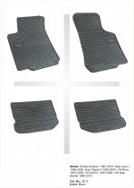 EL TORO Резиновые коврики в салон SKODA Octavia I (1997-2010)