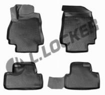 L.Locker Коврики в салон Chevrolet Orlando 2010- 3D полиуретановые