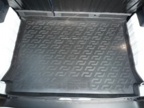 L.Locker Коврики в багажник Citroen Berlingo пассажирский (08-) - пластик