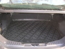 L.Locker Коврики в багажник Ford Focus III s/n (11-) - пластик