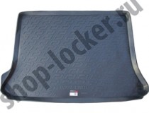 L.Locker Коврики в багажник Ford Tourneo Connect (02-) - пластик