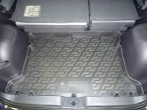 L.Locker Коврики в багажник Hyundai Matrix (01-) - пластик