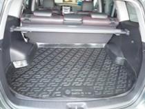 L.Locker Коврики в багажник Hyundai Santa Fe (06-) 5-мест - пластик