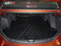L.Locker Коврики в багажник Kia Cerato sd (09-) - пластик