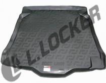 L.Locker Коврики в багажник MG 5 hb (12-) - пластик