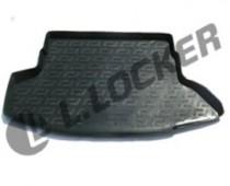 L.Locker Коврики в багажник Nissan Juke (10-) - пластик