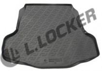 L.Locker Коврики в багажник Nissan Teana sd (08-) - пластик