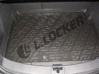 L.Locker Коврики в багажник Opel Astra J GTC нижний (11-) - пластик