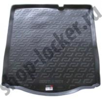 L.Locker Коврики в багажник Peugeot 301 sd (12-) - пластик