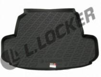 L.Locker Коврики в багажник Peugeot 408 sd (12-) - пластик