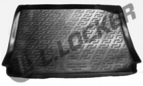 L.Locker Коврики в багажник Peugeot Partner origin (02-) - пластик