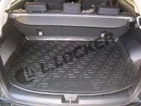 L.Locker Коврики в багажник Subaru XV (11-) - пластик