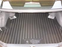 L.Locker Коврики в багажник Toyota Corolla sd (02-07) - пластик