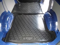 L.Locker Коврики в багажник Volkswagen Transporter V перед. (02-) - пластик