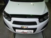 Vip tuning Дефлекторы капота Chevrolet Aveo с 2011 г.в.