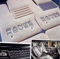 Vip tuning Ворсовые коврики в салон Land Rover Range Rover Supercharged 2007г> АКП