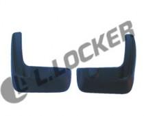 L.Locker Брызговики задние Honda Accord (07-)