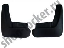 L.Locker Брызговики задние Mazda 3 hatchback (12-)