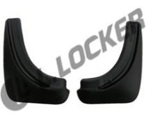 L.Locker Брызговики задние Opel Astra H hatchback (04-)