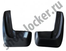L.Locker Брызговики передние Skoda Rapid liftback (12-)