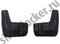 L.Locker Брызговики передние Subaru Forester IV (12-)