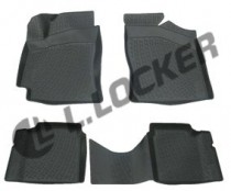 L.Locker Коврики в салон Geely СK 2 2009- 3D  полиуретановые