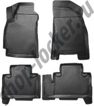 L.Locker Коврики в салон Geely Emgrand  X7 2011- 3D  полиуретановые