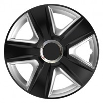 Elegant Esprit RC Black&Silver КОЛПАКИ ДЛЯ КОЛЕС R14 (Комплект 4 шт.)