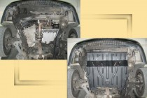 """Авто-Полигон ALFA ROMEO 166 3.0 c 1998-2001г. Защита моторн. отс. категории """"St"""""""