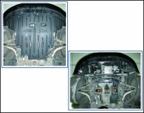 """Авто-Полигон AUDI A4 Авт.1,6;1,8;1,8T;2,0;2,8 с 1995-2007 Защита моторн. отс. категории """"A"""""""