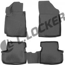 L.Locker Коврики в салон Great Wall Hover M4 2013- полиуретановые