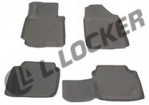 L.Locker Коврики в салон Hyundai Elantra 2011- полиуретановые