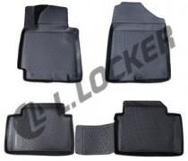 L.Locker Коврики в салон Hyundai i30 2012- полиуретановые