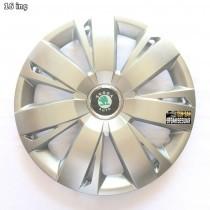 SKS  411 Колпаки для колес на Skoda R16 (Комплект 4 шт.)