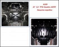 """Авто-Полигон AUDI A7 3,0 TFSi Quattro АКПП Защита коробки категории """"St"""""""