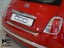 Nataniko Накладка на бампер с загибом FIAT 500